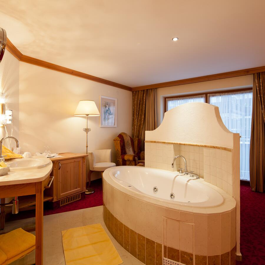 luxurious room in ischgl