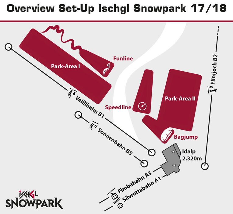 layout ischgl snow park